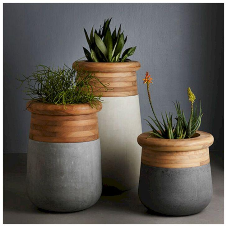 Contemporary Outdoor Planters Ideas 28