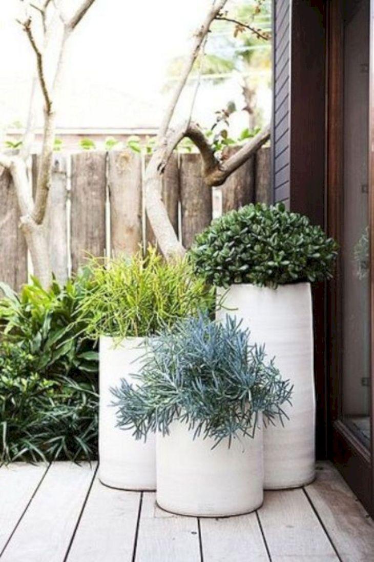 Contemporary Outdoor Planters Ideas 8