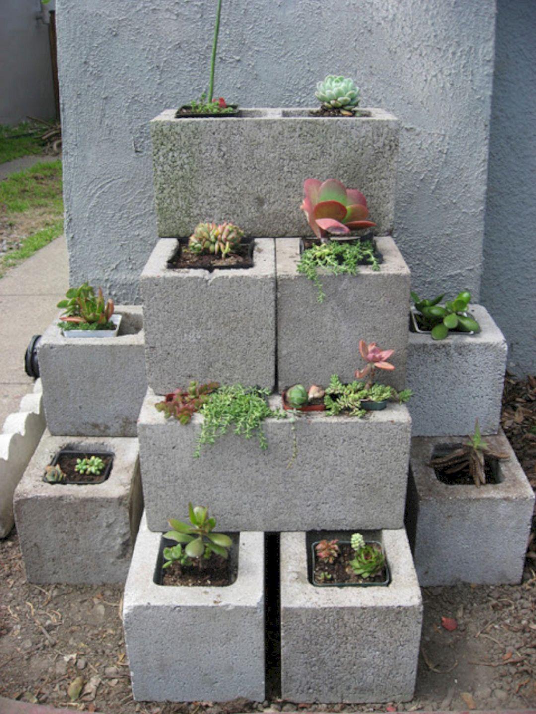 DIY Gardening With Cinder Blocks 11