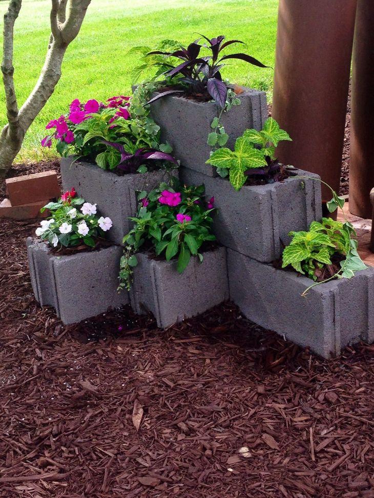 DIY Gardening With Cinder Blocks 13
