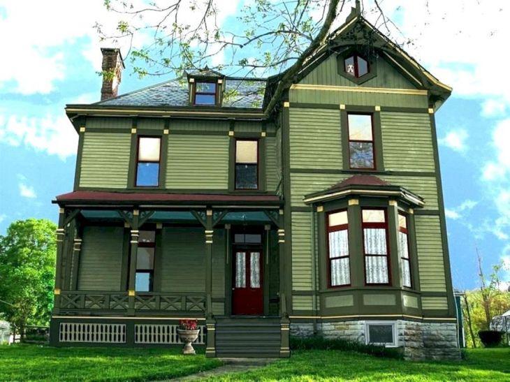 Exterior Home Colors Green Ideas
