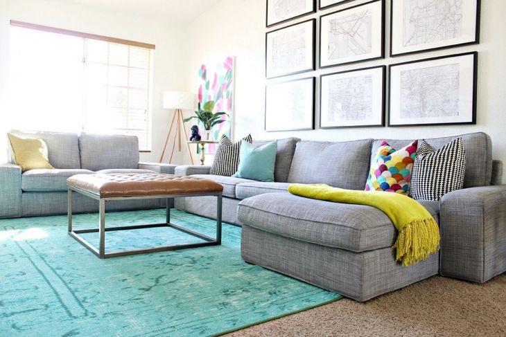 Living Room Colorful Sofa 15