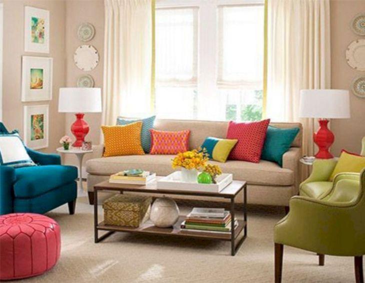 Living Room Colorful Sofa 17