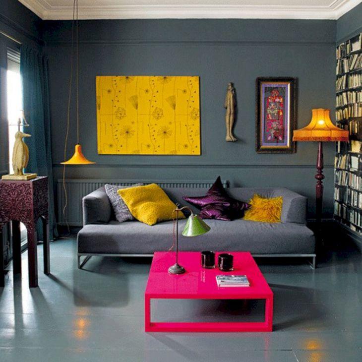 Living Room Colorful Sofa 18