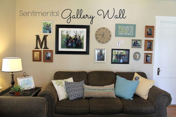 Living Room Wall Gallery Design 10