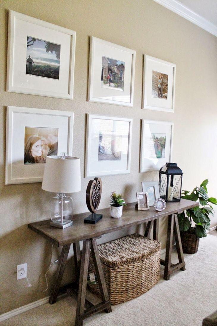 Living Room Wall Gallery Design 30
