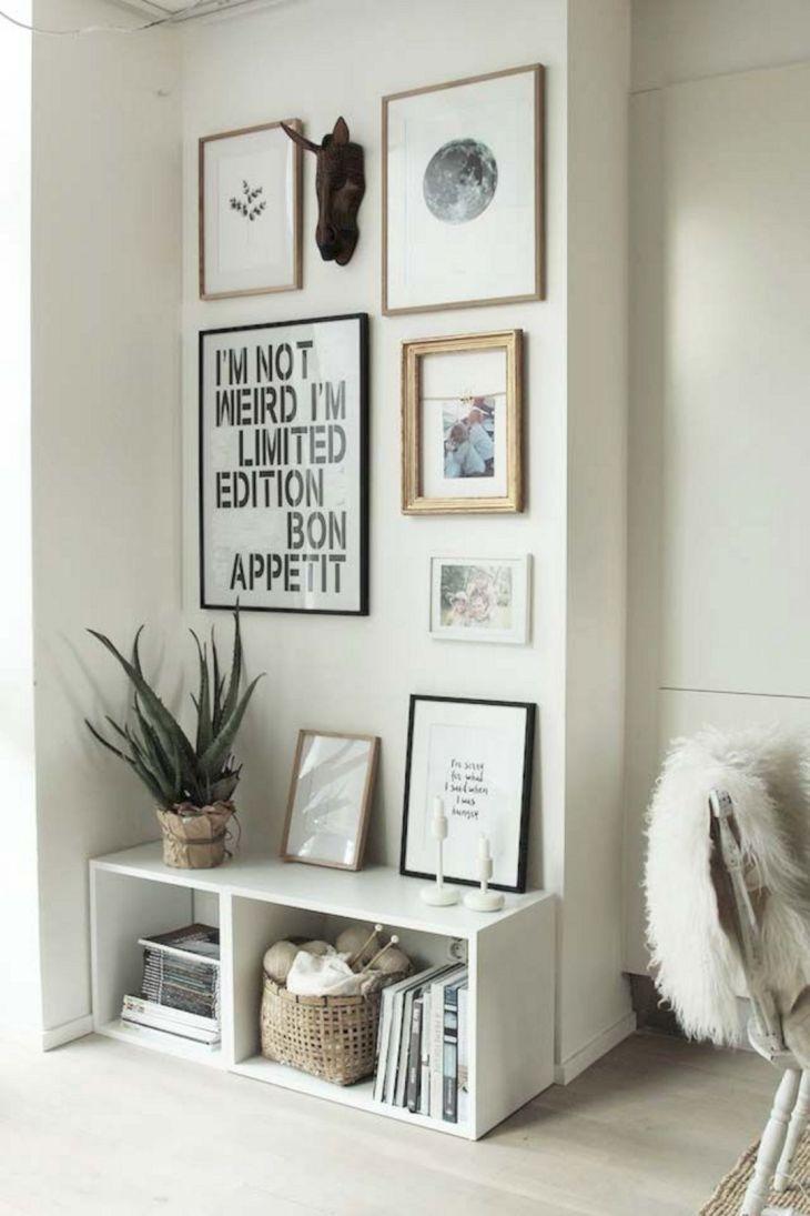Living Room Wall Gallery Design 39