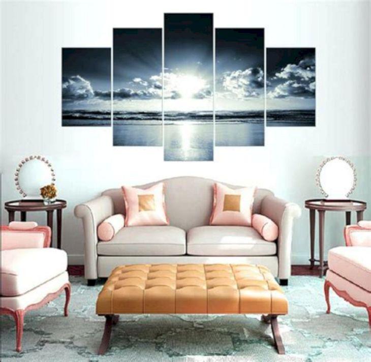 Living Room Wall Gallery Design 6
