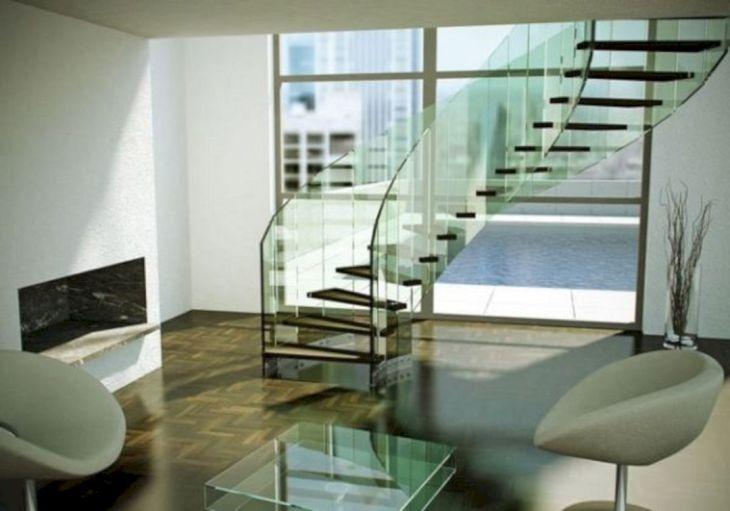 Modern Spiral Staircase Ideas 116