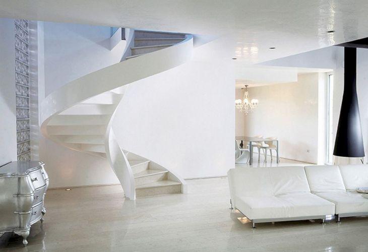 Modern Spiral Staircase Ideas 117