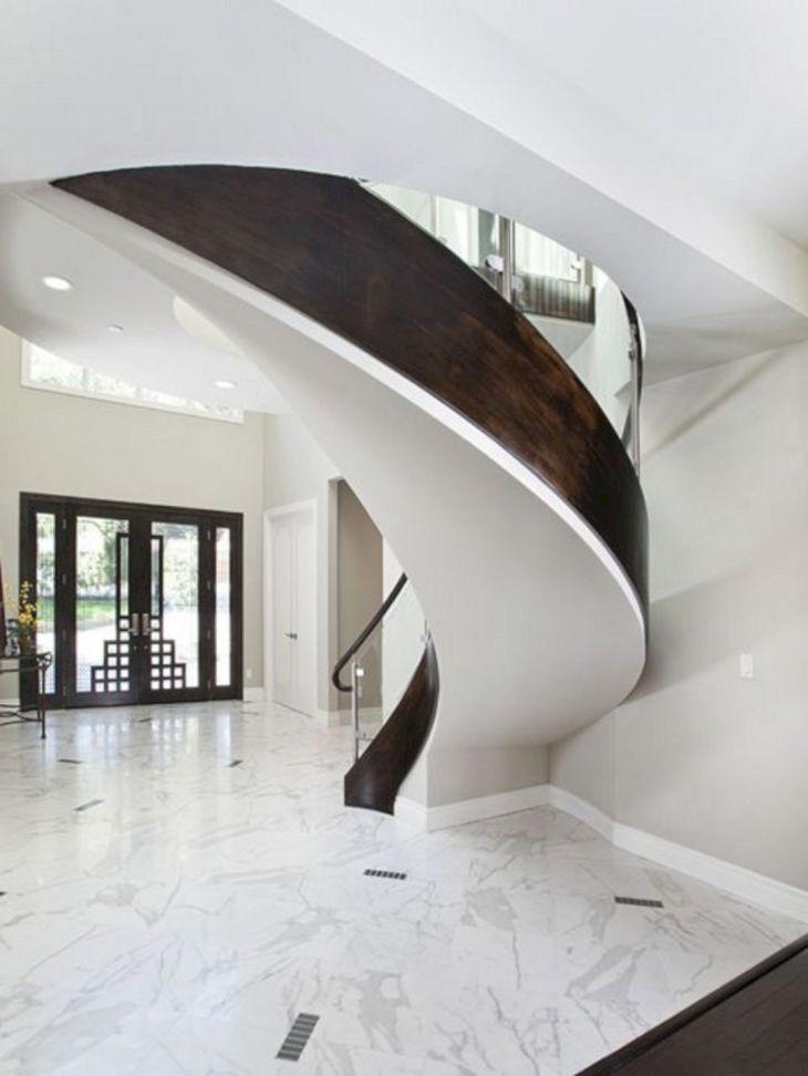 Modern Spiral Staircase Ideas 125