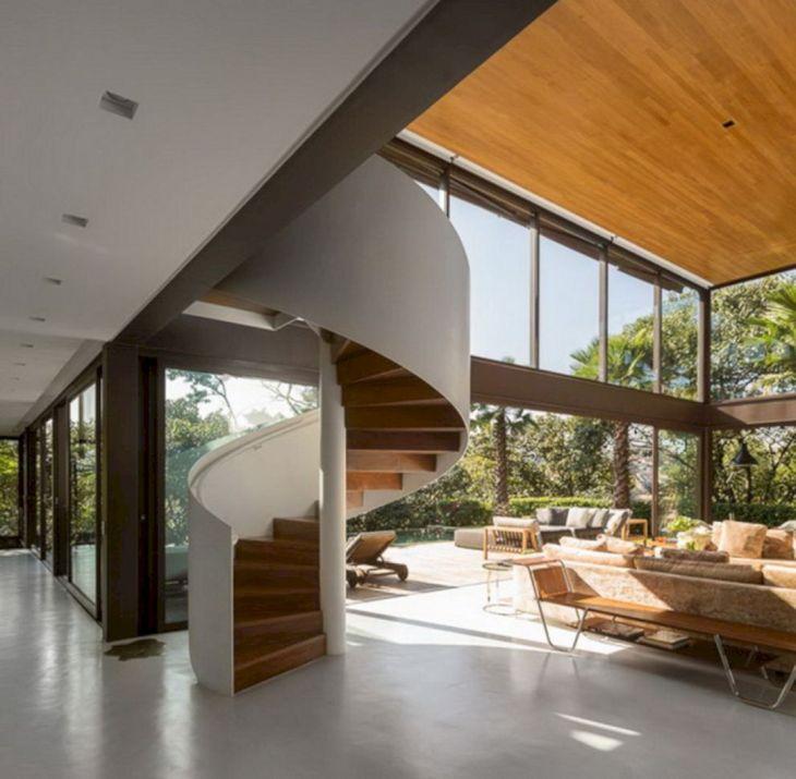 Modern Spiral Staircase Ideas 19