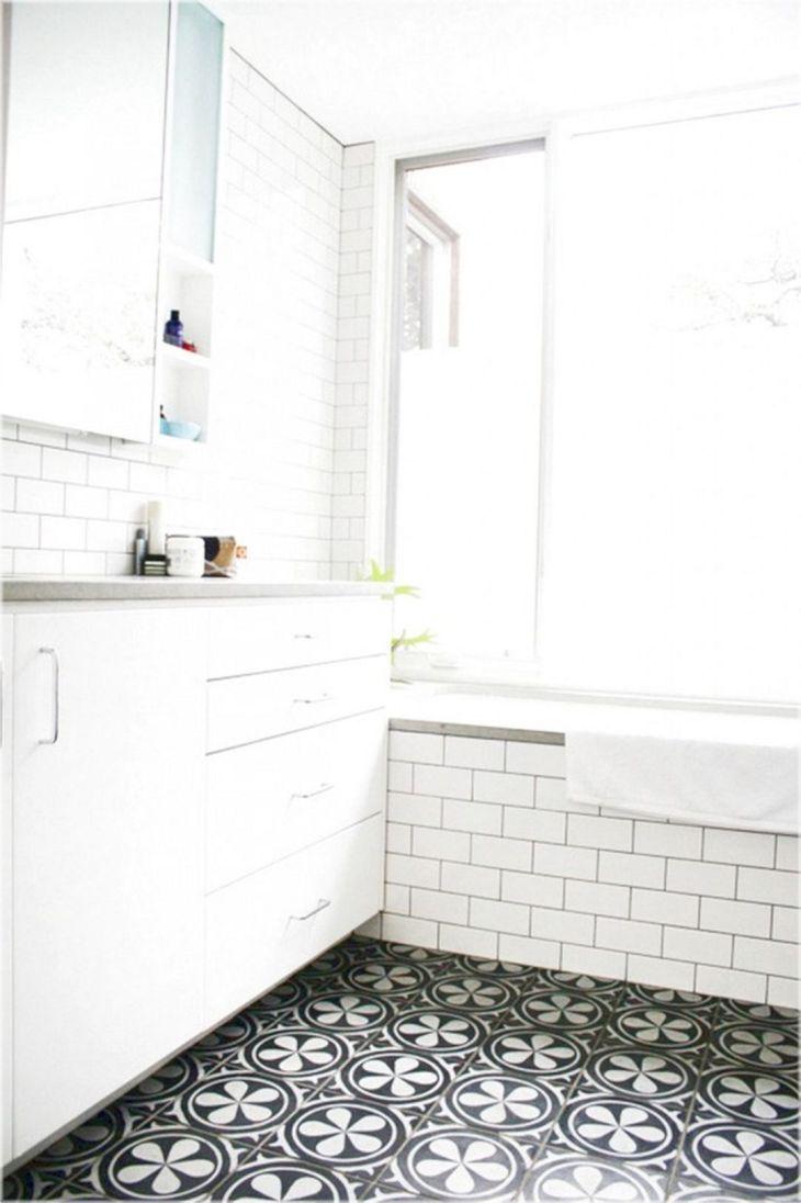Mosaic Tile Bathroom Floor Ideas (5)