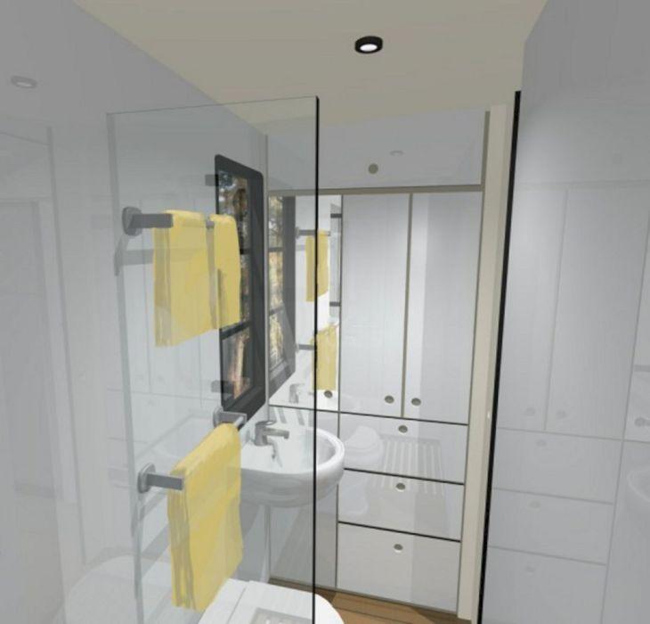 RV Bathroom Shower 015