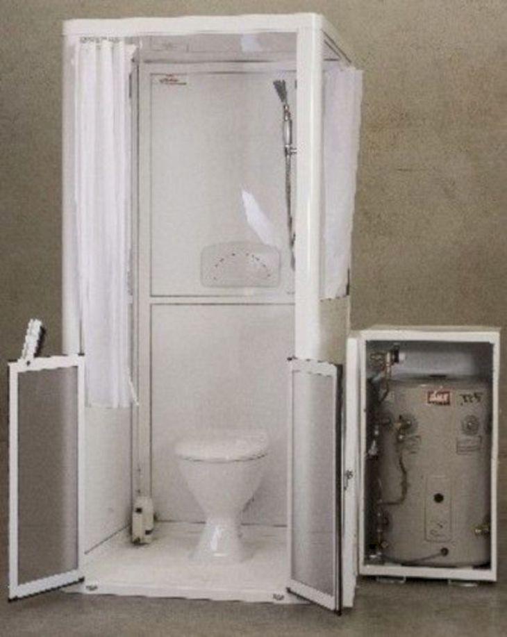 RV Bathroom Shower 023