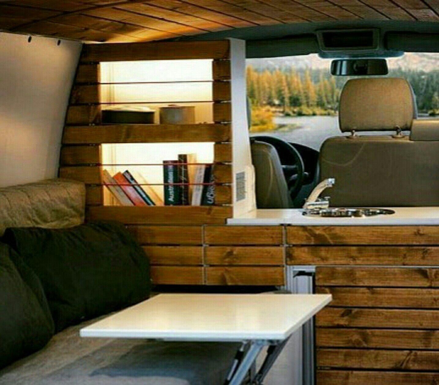 RV & Camper Van Interior Design 50