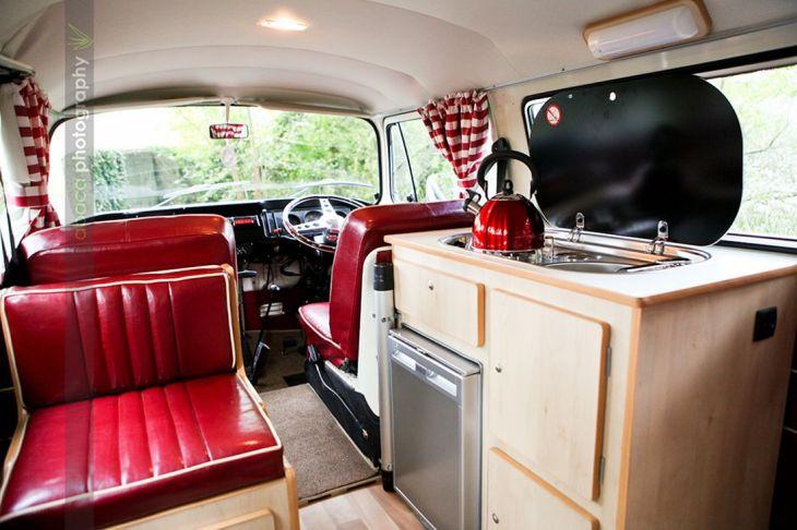 RV & Camper Van Interior Design 70