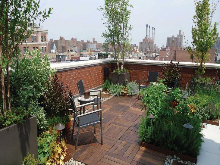 Rooftop Garden Ideas 123