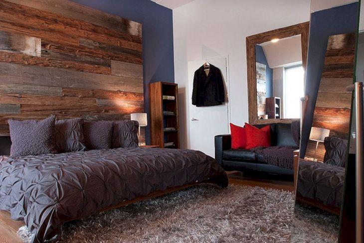 Rustic Bedroom Wall Ideas 160