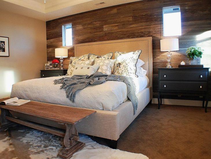 Rustic Bedroom Wall Ideas 170