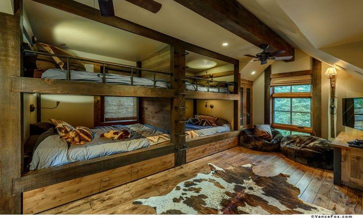 Rustic Cabin Interior Ideas 18