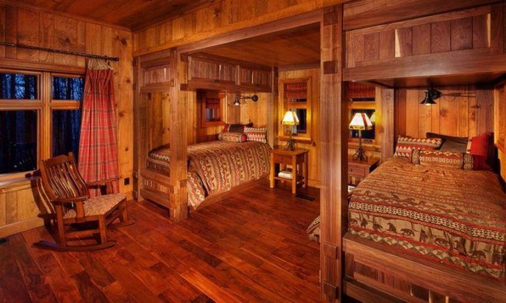 Rustic Cabin Interior Ideas 19