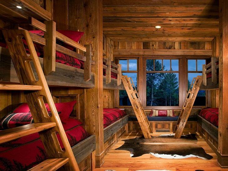 Rustic Cabin Interior Ideas 29