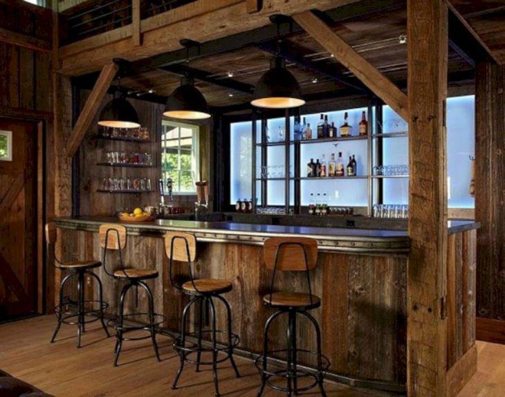 Rustic Cabin Interior Ideas 34
