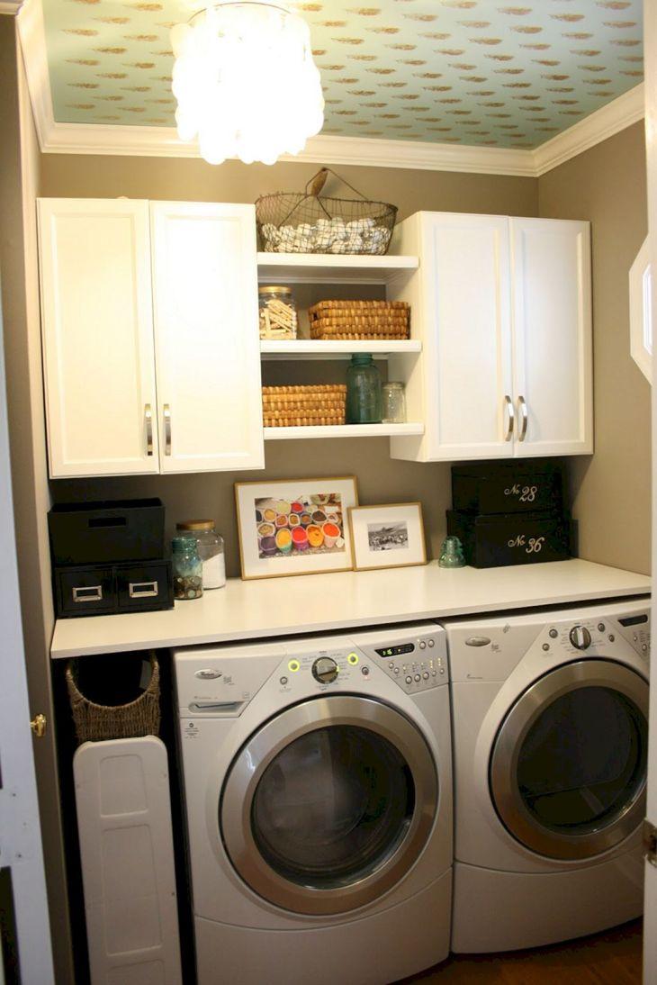 Small Laundry Room Hacks 17