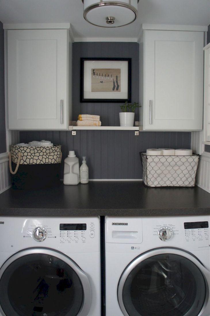 Small Laundry Room Hacks 21