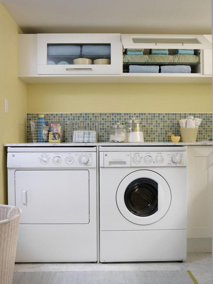 Small Laundry Room Hacks 26