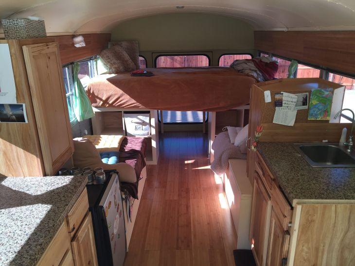 Small RV Camper Van Interiors 010