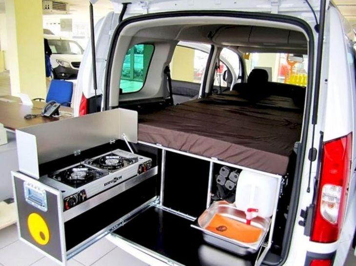 Small RV Camper Van Interiors 017