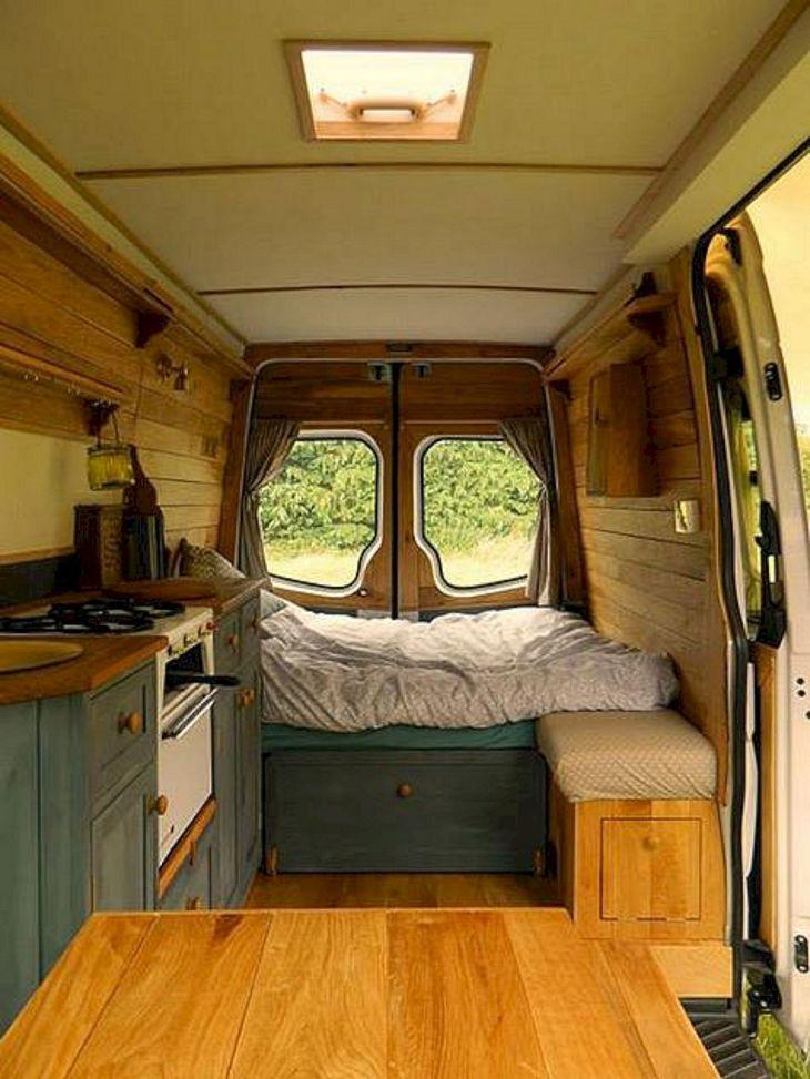 Small RV Camper Van Interiors 05