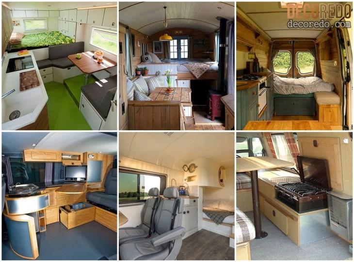 Small RV Camper Van Interiors