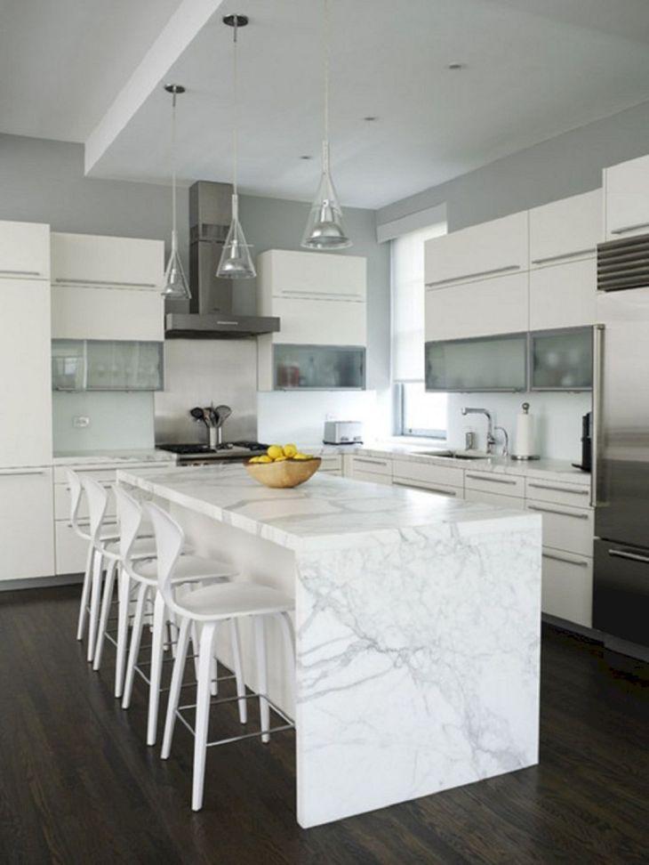 White Granite Kitchen 10