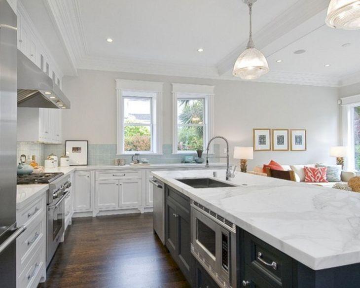 White Granite Kitchen 160
