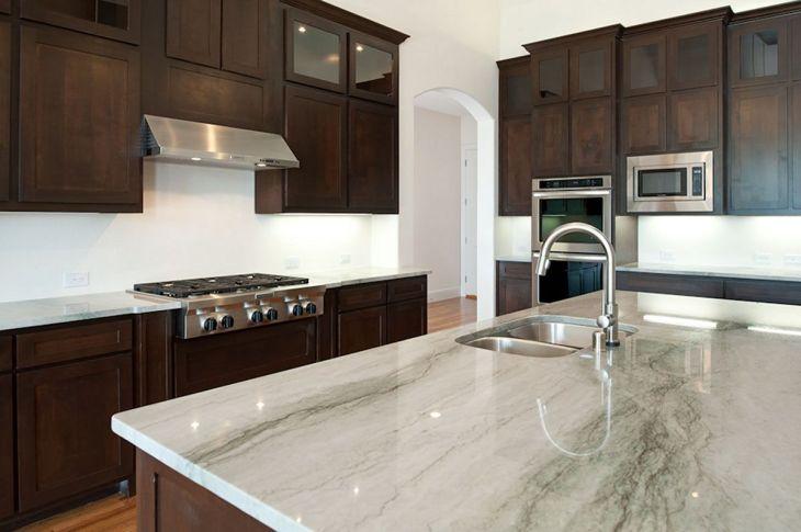 White Granite Kitchen 220