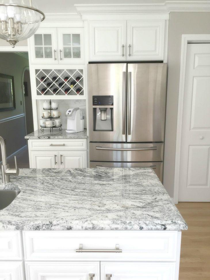 White Granite Kitchen 230
