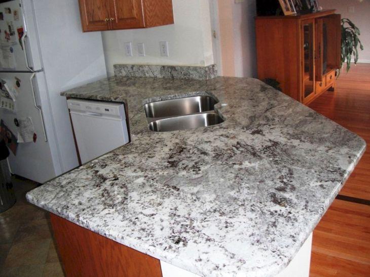 White Granite Kitchen 270