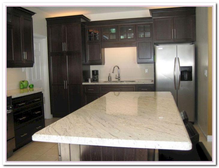 White Granite Kitchen 50