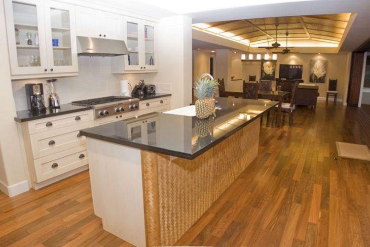 Bamboo Mats Floor Kitchen 5