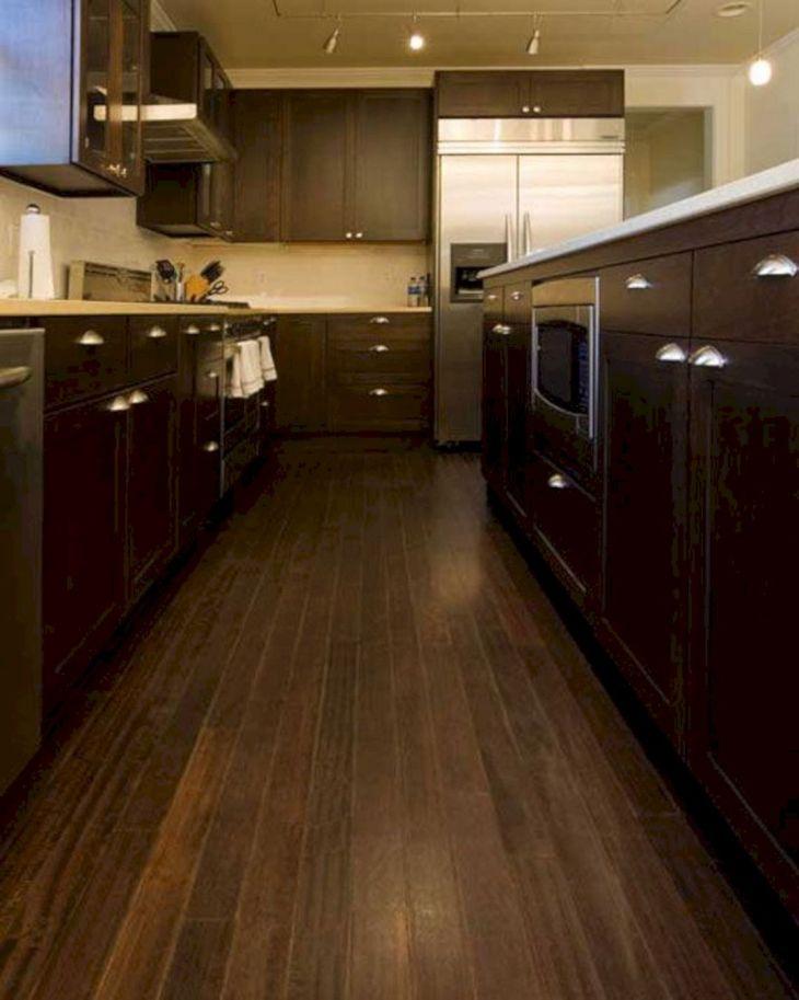 Black Bamboo Flooring Kitchen 004