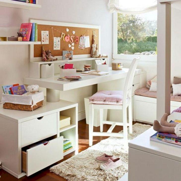 Child Bedroom Design With Study Desk 3