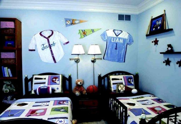 Children's bedroom with Sports Room Design 3