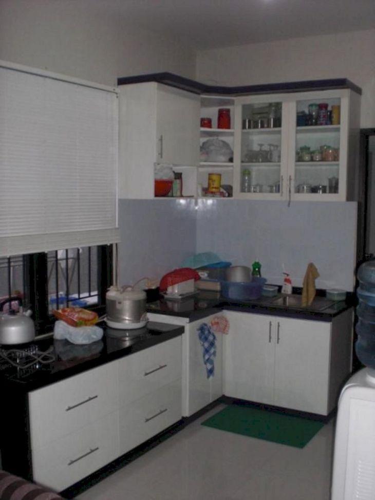Closed Kitchen Interior