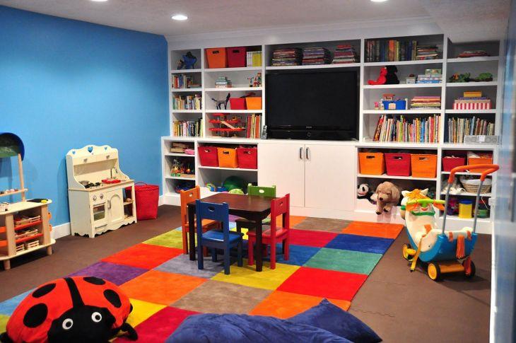 Kids Room Storage Design 005