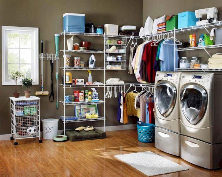 Laundry Room Storage Ideas 13