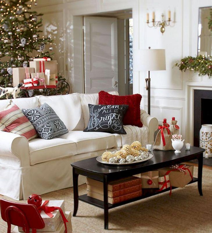 Living Room Christmas Decor 1025
