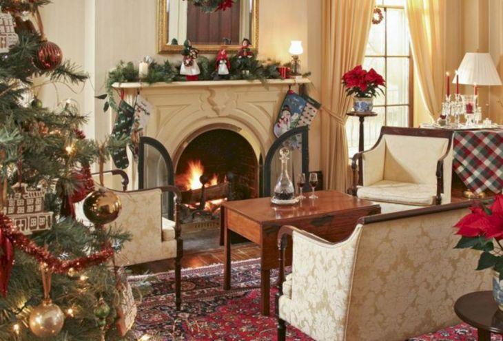 Living Room Christmas Decor 1027